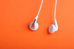 Ζευγάρι των τηλεφώνων αυτιών Στοκ εικόνες με δικαίωμα ελεύθερης χρήσης