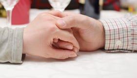 Ζευγάρι των χεριών στοκ εικόνα
