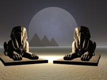 ζευγάρι sphinx Στοκ Φωτογραφίες