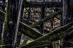 Ζευκτόντα σιδηροδρόμου Στοκ εικόνες με δικαίωμα ελεύθερης χρήσης