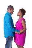 ζεύγος έγκυο Στοκ φωτογραφία με δικαίωμα ελεύθερης χρήσης