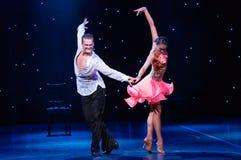 Ζεύγος αιθουσών χορού Στοκ εικόνες με δικαίωμα ελεύθερης χρήσης