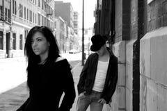 ζεύγος αστικό Στοκ φωτογραφίες με δικαίωμα ελεύθερης χρήσης