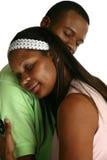 ζεύγος αφροαμερικάνων στοκ εικόνα