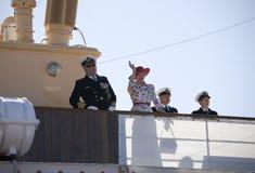 ζεύγος Δανία βασιλική Στοκ Εικόνα