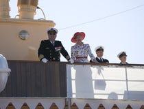 ζεύγος Δανία βασιλική Στοκ εικόνες με δικαίωμα ελεύθερης χρήσης