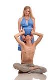 ζεύγος ευτυχές η έγκυο&si Στοκ εικόνα με δικαίωμα ελεύθερης χρήσης