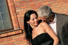 ζεύγος ευτυχές Στοκ Φωτογραφία