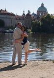 ζεύγος ευτυχές Στοκ εικόνα με δικαίωμα ελεύθερης χρήσης