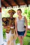 Ζεύγος μίγματος Lankan Sri Στοκ Εικόνες