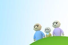 ζεύγος μωρών διανυσματική απεικόνιση
