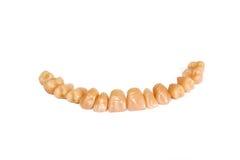 ζεύγος που κάνει τα δόντι&a Στοκ φωτογραφία με δικαίωμα ελεύθερης χρήσης