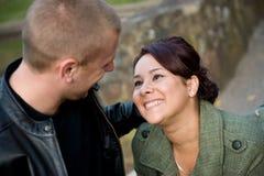 ζεύγος που χρονολογεί Στοκ Φωτογραφίες