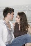 ζεύγος ρομαντικό στοκ εικόνα με δικαίωμα ελεύθερης χρήσης