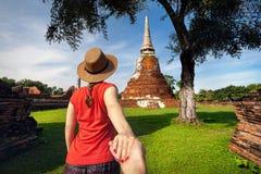 Ζεύγος στις διακοπές στην Ταϊλάνδη Στοκ Εικόνες