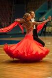 Ζεύγος χορού, Στοκ εικόνα με δικαίωμα ελεύθερης χρήσης