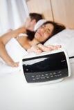 Ζεύγος ύπνου Στοκ εικόνα με δικαίωμα ελεύθερης χρήσης