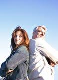 ζεύγος Στοκ φωτογραφία με δικαίωμα ελεύθερης χρήσης