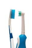 ζεύγος toothbruhes Στοκ φωτογραφίες με δικαίωμα ελεύθερης χρήσης