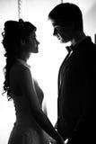 ζεύγος wed πρόσφατα στοκ εικόνα με δικαίωμα ελεύθερης χρήσης