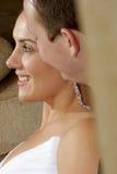 ζεύγος wed στοκ φωτογραφία