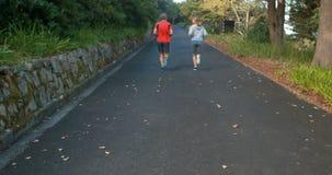 Ζεύγους στον ανοικτό δρόμο φιλμ μικρού μήκους