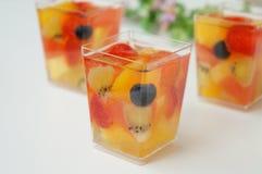 Ζελατίνα θερινών φρούτων στοκ εικόνες