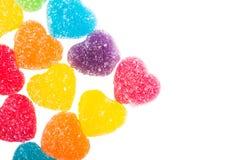 Ζελατίνα καρδιών Στοκ φωτογραφία με δικαίωμα ελεύθερης χρήσης