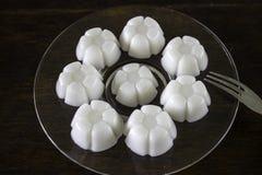 Ζελατίνα που γίνεται από το επιδόρπιο Ταϊλάνδη καρύδων νερού Στοκ εικόνα με δικαίωμα ελεύθερης χρήσης