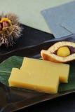 Ζελατίνα φασολιών του κάστανου Στοκ Φωτογραφία