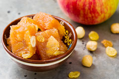 Ζελατίνα φρούτων της Apple σε Ινδό Στοκ εικόνες με δικαίωμα ελεύθερης χρήσης
