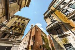 Ζημία από την υγρασία στη Βενετία Στοκ Φωτογραφία
