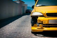 Ζημία αυτοκινήτων Στοκ εικόνες με δικαίωμα ελεύθερης χρήσης