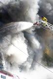 Ζημία πυρκαγιάς Στοκ Εικόνα