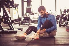 Ζημία στη γυμναστική στοκ φωτογραφία με δικαίωμα ελεύθερης χρήσης