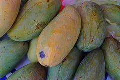 Ζημία φρούτων μάγκο από το παράσιτο στοκ εικόνες