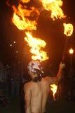 Ζογκλέρ hoffmann-πυρκαγιάς της Millie Στοκ Εικόνα