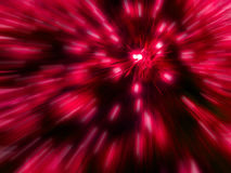 Ζουμ κόκκινου φωτός στοκ εικόνα με δικαίωμα ελεύθερης χρήσης