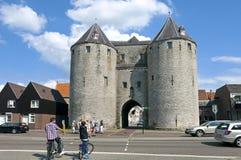 Ζουμ του Μπέργκεν op άποψης πόλεων με την πύλη φυλακών Στοκ Εικόνες