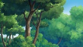 Ζούγκλα και φυσικός Στοκ Εικόνες