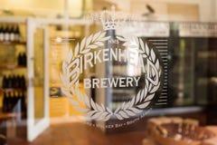 Ζυθοποιείο μπύρας τεχνών του Μπίρκενχεντ, Νότια Αφρική στοκ εικόνα με δικαίωμα ελεύθερης χρήσης