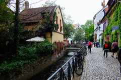 Ζυθοποιείο Feierling Freiburg, Γερμανία Στοκ εικόνες με δικαίωμα ελεύθερης χρήσης