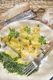 Ζυμαρικά αυγών καραμελών Στοκ Εικόνες