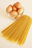 ζυμαρικά αυγών Στοκ φωτογραφίες με δικαίωμα ελεύθερης χρήσης