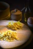 ζυμαρικά αυγών Στοκ εικόνες με δικαίωμα ελεύθερης χρήσης