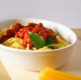 ζυμαρικά γευμάτων Στοκ φωτογραφίες με δικαίωμα ελεύθερης χρήσης