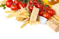 ζυμαρικά γευμάτων στοκ εικόνες
