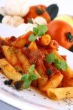 ζυμαρικά γευμάτων Στοκ εικόνες με δικαίωμα ελεύθερης χρήσης