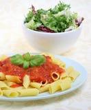 ζυμαρικά γεύματος Στοκ εικόνα με δικαίωμα ελεύθερης χρήσης