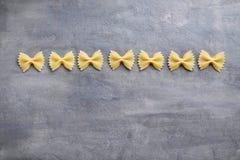 Ζυμαρικά δεσμών τόξων Στοκ Φωτογραφία